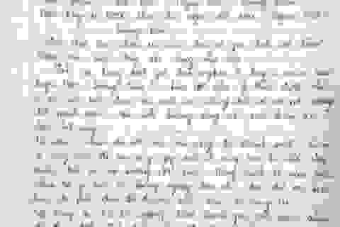 Bức tâm thư đẫm nước mắt của nữ sinh 29 điểm rớt ĐH gửi Bộ trưởng Bộ Công an