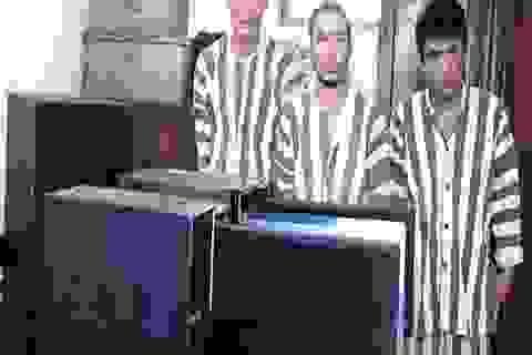 Nhóm đối tượng 9x đột nhập trường học trộm máy vi tính