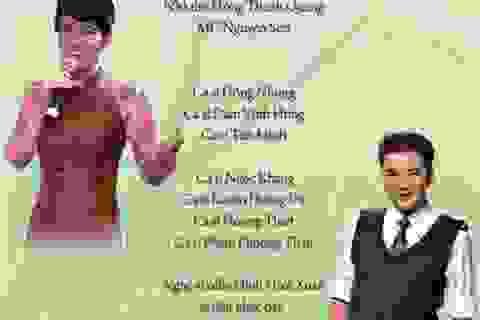 Quảng Bình: Đàm Vĩnh Hưng, Hồng Nhung… hát giúp đỡ người nghèo