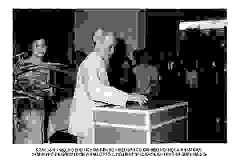 Chủ tịch Hồ Chí Minh với công tác bầu cử và hoạt động của Quốc hội