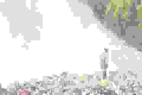 """Bãi rác lớn bậc nhất Quảng Bình cháy âm ỉ, """"om"""" khói độc suốt 1 tuần"""