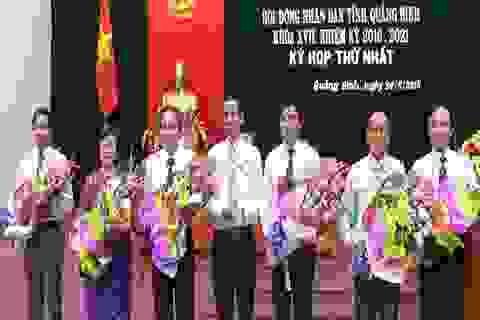 Quảng Bình bầu thêm 2 Phó Chủ tịch tỉnh