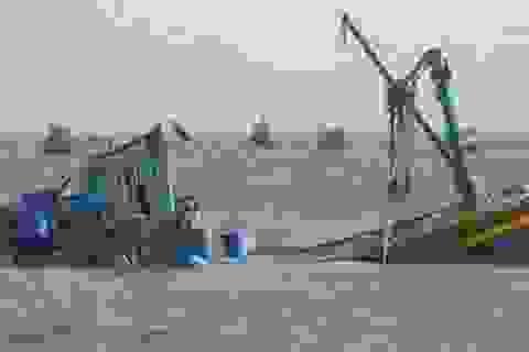 Tàu cá bị đâm chìm, 7 ngư dân mất liên lạc trên biển