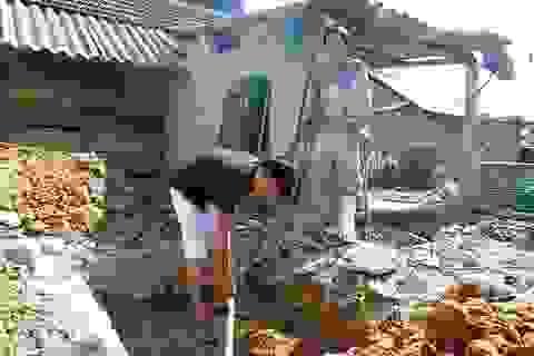Niềm vui xây được nhà mới của gia đình anh Lê Văn Biên