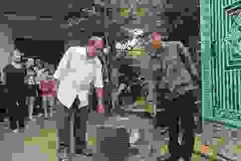 Thêm cá thể khỉ quý hiếm được người dân tự nguyện giao nộp