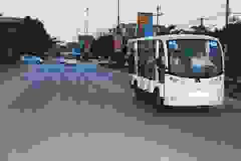 Quảng Bình: Sử dụng xe ô tô điện vận chuyển khách du lịch