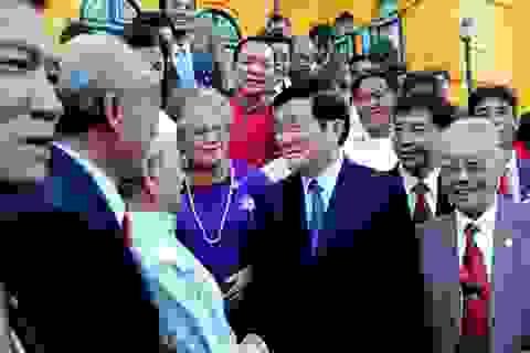 Chủ tịch nước gặp mặt các nghệ nhân đại diện 40 làng nghề