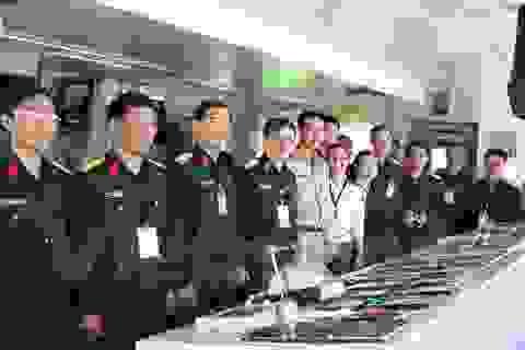 Lần đầu tiên giao lưu sỹ quan quân đội Việt Nam và Thái Lan