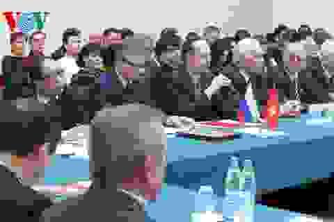 """Hội thảo """"65 năm thiết lập quan hệ ngoại giao Nga - Việt Nam"""" tại Nga"""