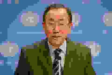 Tổng Thư ký LHQ Ban Ki-moon bắt đầu chuyến thăm Việt Nam