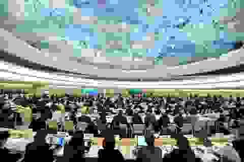 Việt Nam nêu nhiều quan điểm quốc gia tại Hội đồng Nhân quyền LHQ