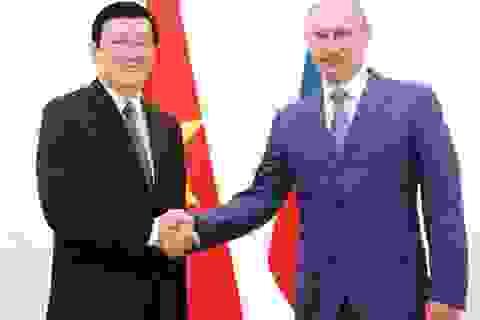 Lãnh đạo Nga chúc mừng Việt Nam nhân kỷ niệm 40 năm chiến thắng 30/4