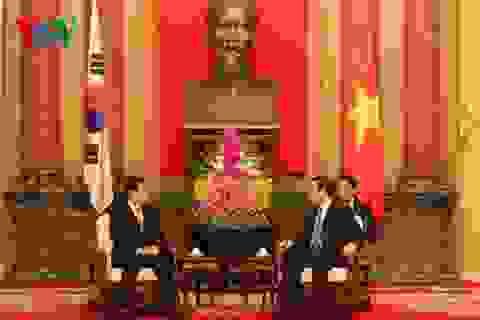 Chủ tịch nước tiếp Bộ trưởng Quốc phòng Hàn Quốc