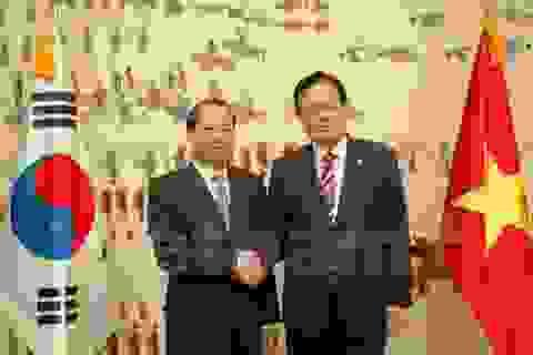 Thúc đẩy nâng kim ngạch Việt-Hàn lên 70 tỷ USD vào năm 2020