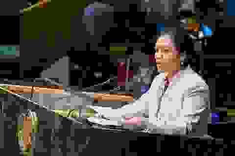 Việt Nam nêu vấn đề Biển Đông tại Hội nghị Liên hợp quốc