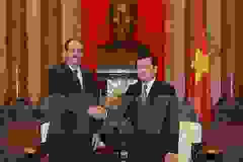 Chủ tịch nước: Đưa quan hệ Việt Nam - Cuba đi vào chiều sâu