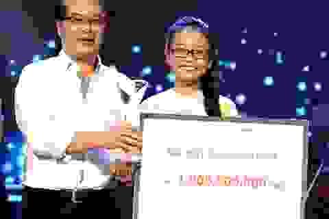 """""""Giọng ca nhí """"Phương Mỹ Chi đoạt giải thưởng 1 tỷ đồng"""