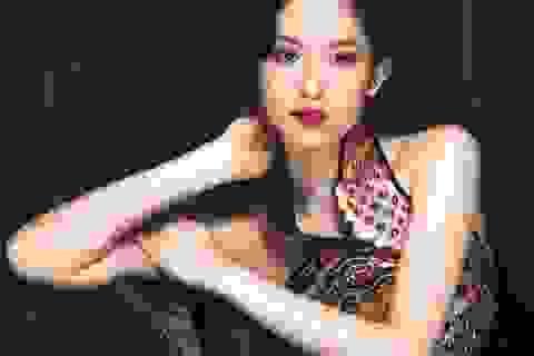 Vẻ đẹp ấn tượng của Hoa hậu Đông Nam Á Triều Thu