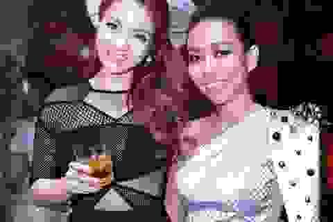 Thảo Trang, Thủy Top khuấy động đêm nhạc
