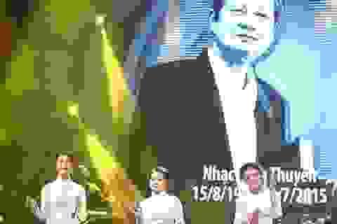Khán giả xúc động với tiết mục tưởng nhớ 3 nhạc sĩ gạo cội