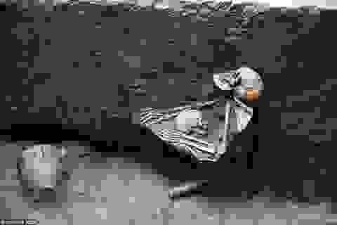"""Những xác ướp """"mẹ ôm con trong cơn thảm họa"""" hàng nghìn năm"""