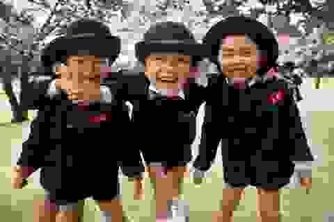 Những em bé Nhật Bản khiến cả thế giới phải ngưỡng mộ