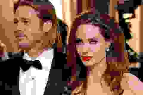 Tượng sáp của Brad Pitt và Angelina Jolie bị chia tách