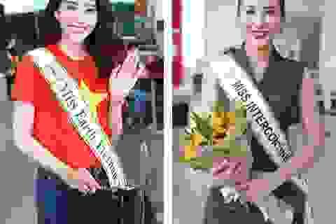 """Những nhan sắc Việt tự tin """"đem chuông đi đánh xứ người"""""""