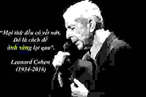 "Nam ca sĩ huyền thoại ""Hallelujah"" qua đời ở tuổi 82"