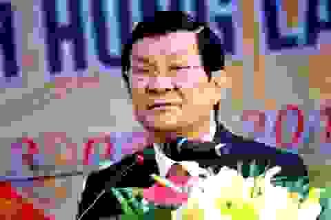 Chủ tịch nước dự lễ kỷ niệm 40 năm thành lập Trường THPT Chuyên Phan Bội Châu