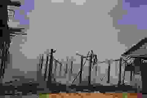 Cháy làng ngói Cừa, thiệt hại ước tính hơn 6 tỷ đồng