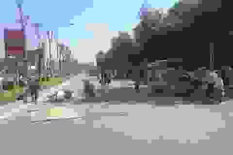 Hà Nội: Ô tô khách cán tử vong bé gái 15 tuổi