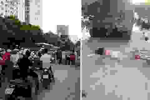 Hà Nội: Xe bồn bê tông cán chết học sinh lớp 8 đi xe đạp