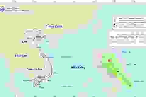 Áp thấp nhiệt đới có khả năng mạnh lên thành bão hướng về Biển Đông