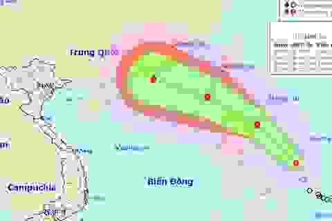 Sắp có bão cực mạnh vào Biển Đông