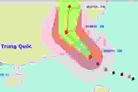 Siêu bão Meranti vào Biển Đông, hướng về đất liền Trung Quốc
