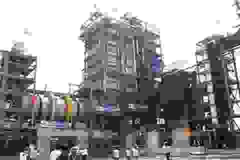 Lò đốt chất thải công nghiệp phát điện đầu tiên ở Hà Nội chính thức nổi lửa