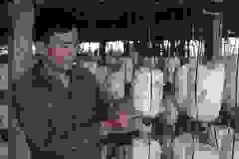 Mô hình thu hồi nước từ lúa và xử lý rác thải để sản xuất nấm ăn