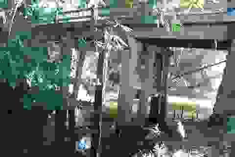 Người cựu chiến binh gom góp 300 triệu xây cầu cho dân đi