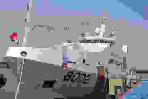 Cảnh sát biển Việt Nam tiếp nhận 2 tàu lớn hiện đại