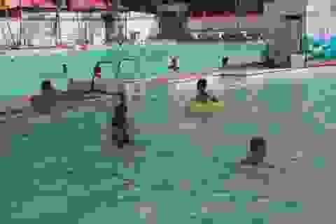 Đắk Lắk dạy bơi, phòng chống đuối nước mùa hè cho trẻ em
