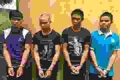 Bắt giữ băng cướp liên tỉnh là 4 anh em ruột