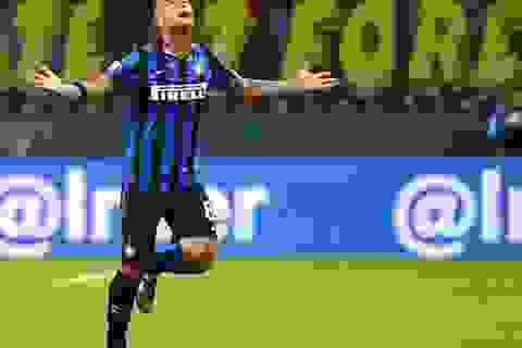 Inter toàn thắng, bỏ xa Juventus 10 điểm