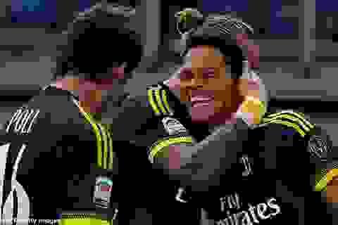 """""""Bom tấn"""" lập công, AC Milan thắng trận thứ 3 liên tiếp"""