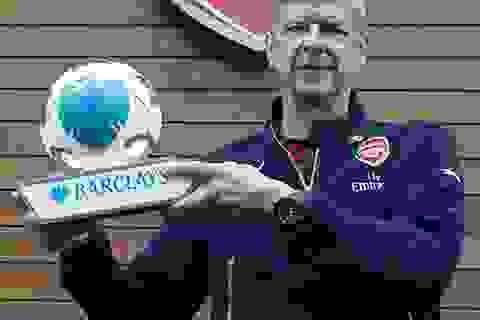 HLV Wenger được tôn vinh xuất sắc nhất tháng ở Premier League