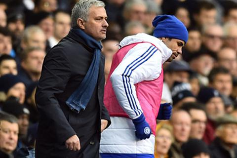 Mourinho lên tiếng sau vụ Diego Costa ném áo tập