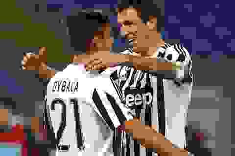 Liên tiếp chiến thắng, Juventus áp sát top 3