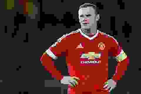 MU mất Rooney ở tuần thi đấu giông bão