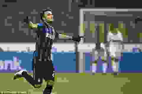 """Lại thắng """"xấu xí"""", Inter vượt lên dẫn đầu Serie A"""