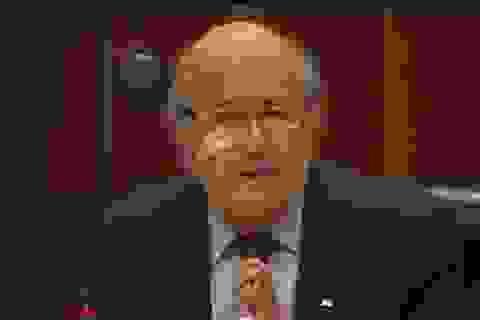 """Sepp Blatter khẳng định """"trong sạch"""", quyết kháng cáo tới cùng"""